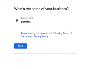 name your google my business
